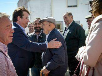 Fernández Vara subraya lo rural como seña de identidad de Extremadura