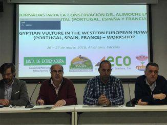 primera Jornada para la Conservación del Alimoche en Europa Occidental
