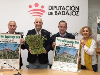Del 6 al 8 de abril Burguillos del Cerro celebrará la tercera edición de la Feria del Espárrago