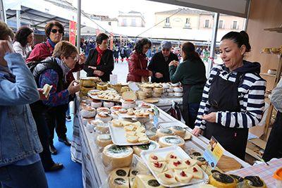 Los visitantes tendrán a su alcance la degustación de unas 500 variedades de queso