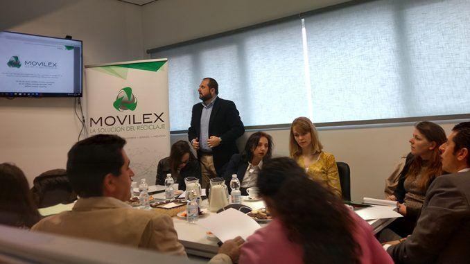 Presentación de Movilex a los miembros de la European Commission Circular Economy.