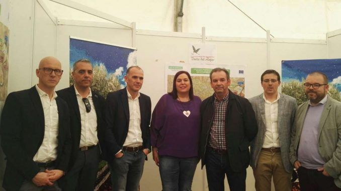 Inauguración de la III edición de Agroliva en Monterrubio de la Serena (Badajoz)