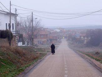 Los pensionistas rurales han vuelto a reclamar sus derechos tras toda una vida de trabajo muy duro y mal remunerado