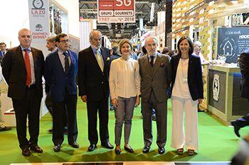 Gran cantidad de visitas, operaciones y numerosos operadores internacionales que viene a conocer la variedad y calidad de los productos españoles y las novedades que la industria, la gastronomía, la agricultura y los productores españoles ofrecen al mundo.