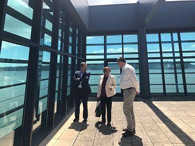 En la reunión se ha destacado la importancia de la integración de la Plataforma Logística del Suroeste Europeo en la estrategia logística hispano-lusa