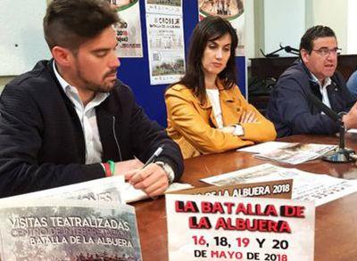 La directora general de Cultura, Miriam García Cabezas, presentó hoy la edición 2018 de La Batalla de La Albuera