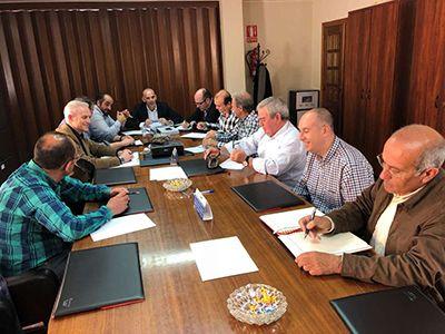 Manuel Mejías, ha presidido una nueva reunión de la Mesa del Regadío