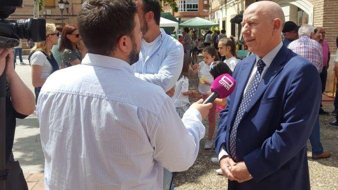 El director de la Interprofesional del Porcino de Capa Blanca (INTERPORC), Alberto Herranz,