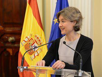 Isabel García Tejerina, ha mantenido esta tarde en Bruselas reuniones bilaterales con el Comisario Europeo de Agricultura y Desarrollo Rural