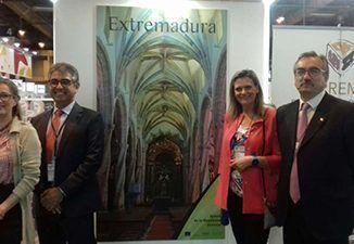 La Junta de Extremadura, a través de la Secretaría General de Economía y Comercio y Extremadura Avante, acompaña a las empresas extremeñas en la feria.